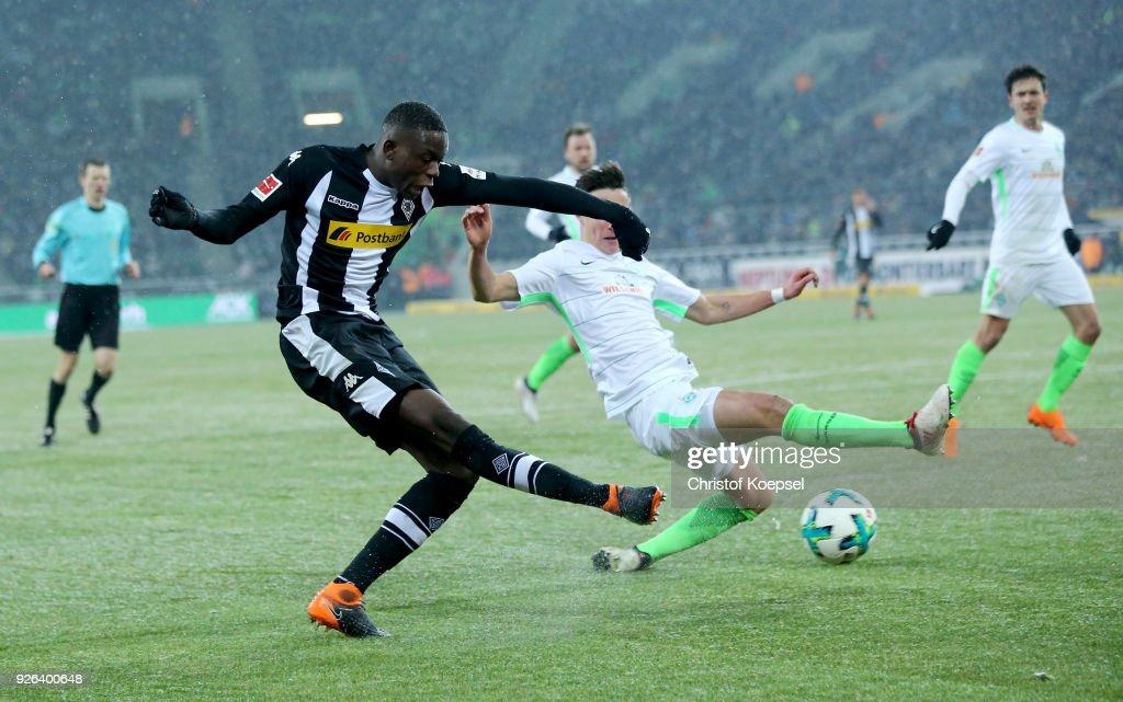 Borussia Moenchengladbach v SV Werder Bremen - Bundesliga : Nachrichtenfoto