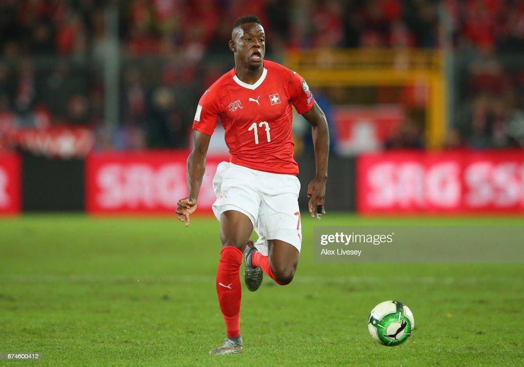 Switzerland v Northern Ireland - FIFA 2018 World Cup Qualifier Play-Off: Second Leg : News Photo