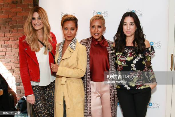 Denise Albert Jada Pinkett Smith Adrienne BanfieldJones Melissa Musen Gerstein on October 23 2018 in New York City