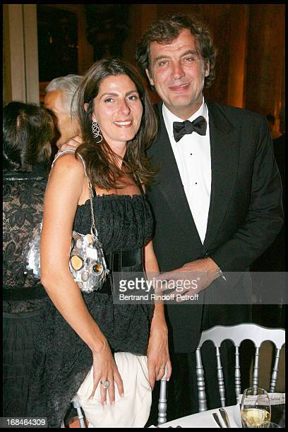 Denise and Alexandre Vilgrain at Gala Of The Association For The Influence Of The National Paris Opera At Palais Garnier