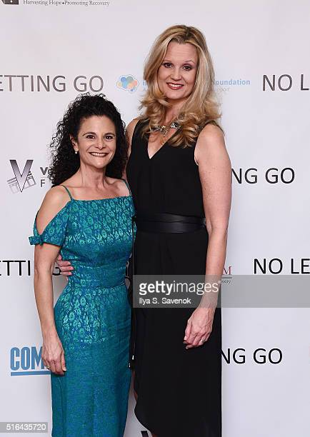 Denise Ashlynd and Cheryl Allison attend NO LETTING GO Movie NYC Theatrical Premiere at City Cinemas Village East on March 18 2016 in New York City
