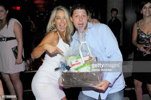 Denise Austin and Brian Moriarty attend EVERYDAY HEALTH Anniversary Party at Gansevoort Park Avenue South on September 23 2010 in New York City