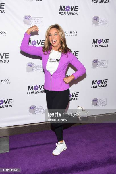 Denise Austin at The Women's Alzheimer's Movement And Equinox Fitness Clubs Host 2019 Move For Minds at Equinox Sports Club Los Angeles on November...
