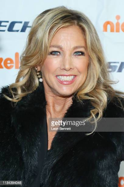 Denise Austin attends Skechers Foundation 10th Year Celebration Check Presentation at Shade Hotel on March 07, 2019 in Manhattan Beach, California.