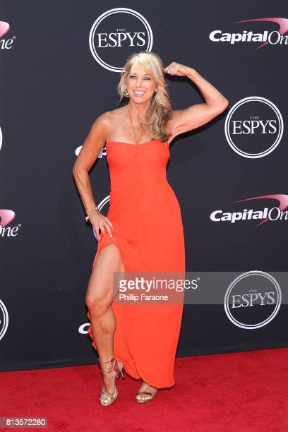Denise Austin attends The 2017 ESPYS at Microsoft Theater on July 12 2017 in Los Angeles California