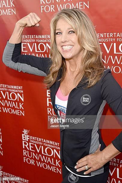 Denise Austin attends the 21st Annual EIF Revlon Run Walk For Women on May 10 2014 in Los Angeles California