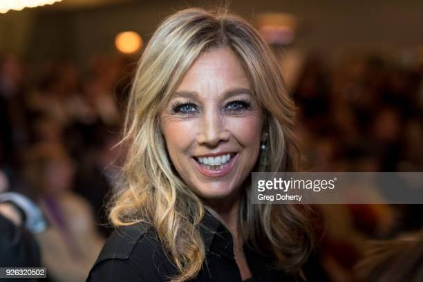 Denise Austin attends the 9th Annual SKECHERS Pier To Pier Friendship Walk Evening Of Celebration And Check Presentation at Shade Hotel on March 1,...