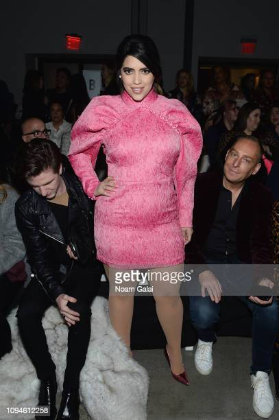 Denise Bidot attends the 11 Honore front row during New York Fashion Week The Shows at Gallery I at Spring Studios on February 6 2019 in New York City