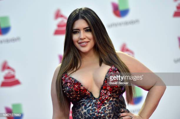 Denise Bidot attends the 19th annual Latin GRAMMY Awards at MGM Grand Garden Arena on November 15 2018 in Las Vegas Nevada