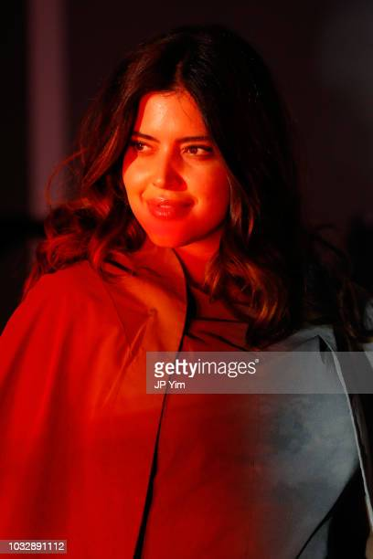 Denise Bidot walks the runway during Olay's Face Anything New York Fashion Week MakeUp Free Runway Show on September 13 2018 in New York City