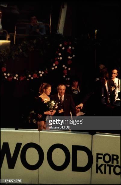 Denise Biellmann an der EiskunstlaufWeltmeisterschaft 1981