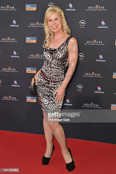 Denise Biellmann arrives at the Rose d'Or television festival award ceremony held at the KKL on May 10, 2012 in Lucerne, Switzerland.