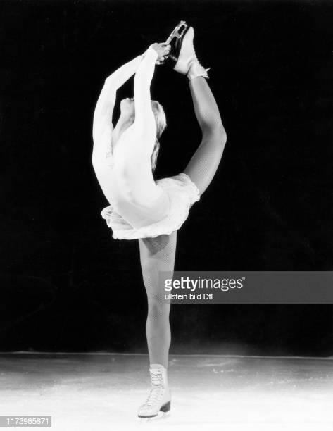 Denise Biellmann doing her Pirouette