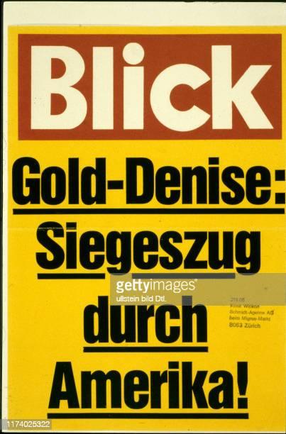 headlines in the swiss print media 1981
