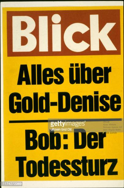 Schlagzeilen in der Schweizer Presse 1981