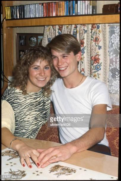 Denise Biellmann und Colin Dawson 1983