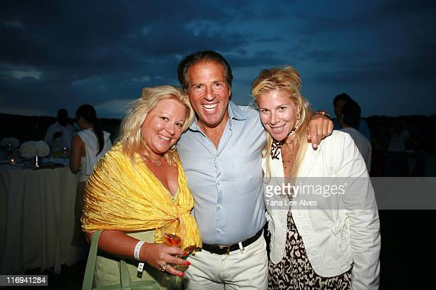 Denise Bornschein Glen Miles and guest during Hamptons Magazine's Cindi Cook and Cristina Cuomo Host Ruinart Champaign Experience with Kathy Sloane...