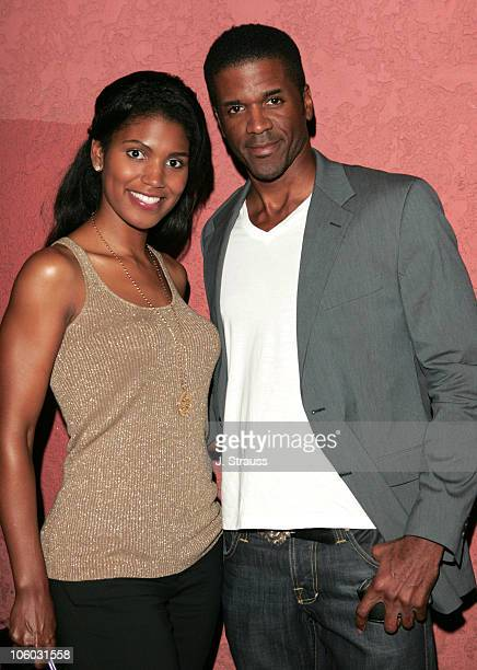 Denise Boutte and Rob Kirkland during The AIDS Healthcare Foundation Presents Hot in Hollywood at The Henry Fonda/Music Box Theatre in Hollywood...