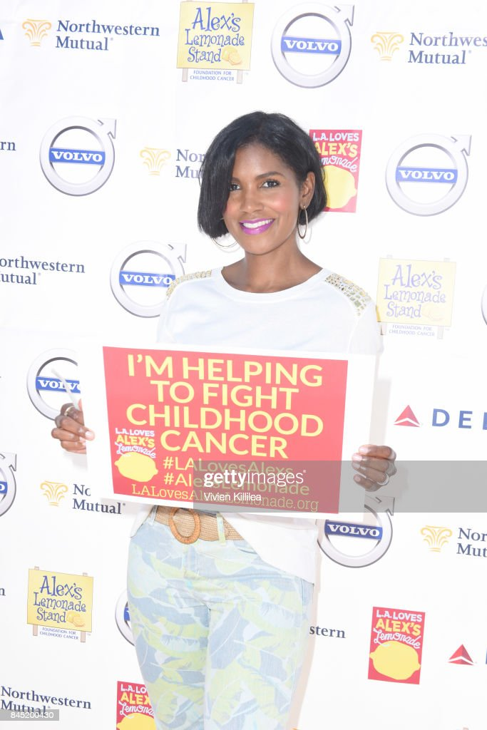Denise Boutte attends the 8th Annual L.A. Loves Alex's Lemonade at UCLA Royce Quad on September 9, 2017 in Los Angeles, California.