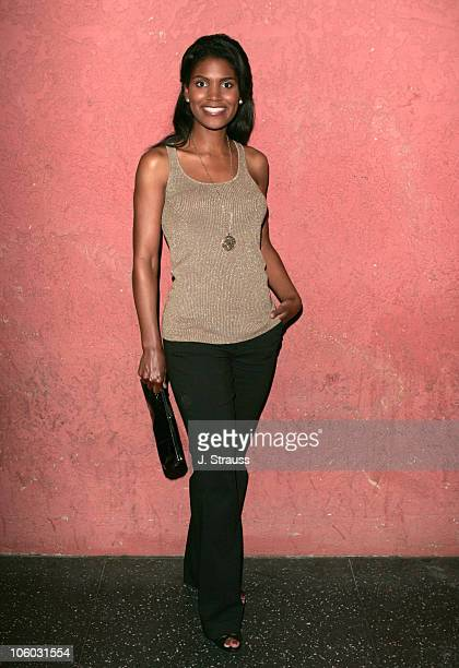 Denise Boutte during The AIDS Healthcare Foundation Presents Hot in Hollywood at The Henry Fonda/Music Box Theatre in Hollywood California United...