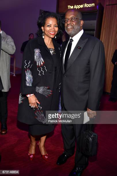 Denise BradleyTyson and Bernard Tyson attend the 2017 TIME 100 Gala at Jazz at Lincoln Center on April 25 2017 in New York City