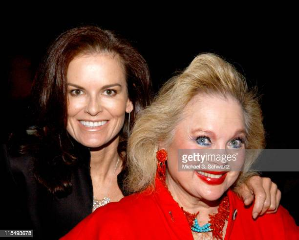 Denise Brown and Carol Connors during The 20th Annual Charlie Awards at The Hollywood Roosevelt Hotel in Hollywood California United States