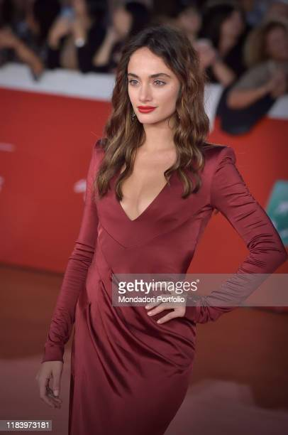 Denise Capezza at Rome Film Fest 2019. Rome , October 25th, 2019
