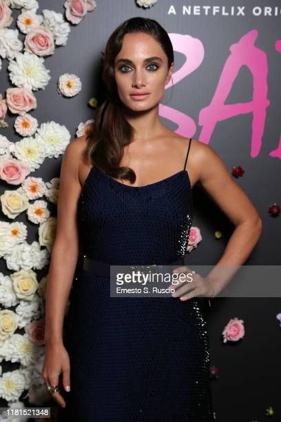 Denise Capezza attends the Netflix's Baby Season 2 Party at Zuma on October 16, 2019 in Rome, Italy.