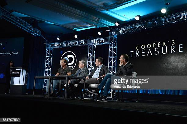 Denise Contis Executive Vice President Production Development for Discovery Channel Darrell Miklos McDonnell Douglas Engineer Jerry Roberts AMPLE...