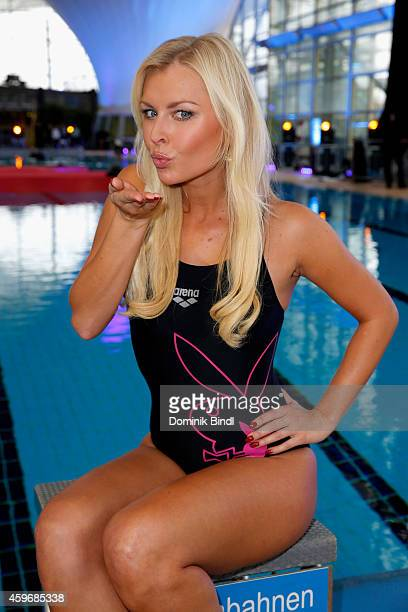 Denise Cotte attends the TV Total Turmpringen photocall on November 28 2014 in Munich Germany