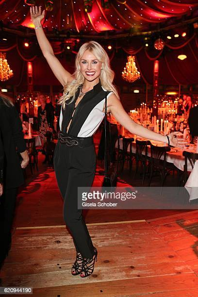 Denise Cotte playmate during the VIP premiere of Schubeck's Teatro at Spiegelzelt on November 3 2016 in Munich Germany