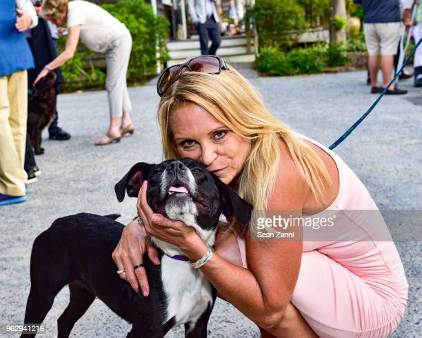 Denise Dean and Logan attend ARF Thrift Shop Designer Show House Sale at ARF Thrift Treasure Shop on May 26 2018 in Sagaponack New York