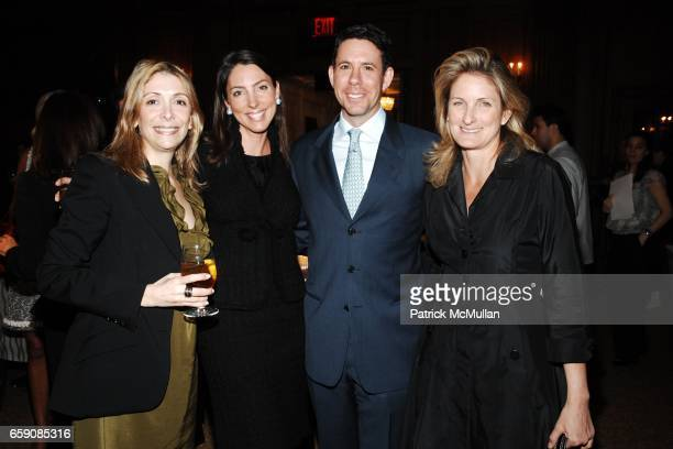 Denise DeLuca Martha O'Brien Jim Brodsky and Blandy Coty attend Society of Memorial Sloan Kettering Senior Associate Luncheon at The Oak Room on...