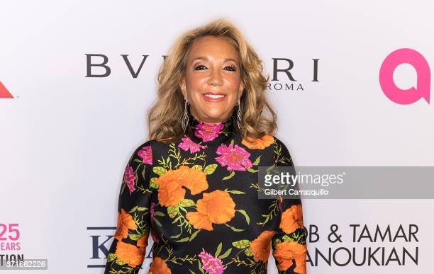 Denise Eisenberg Rich attends as the Elton John AIDS Foundation commemorates its 25th year and honors founder Sir Elton John during the New York Fall...