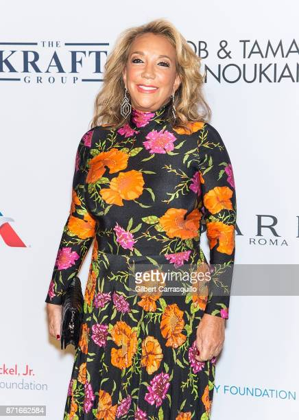 Denise Eisenberg Rich attends Elton John AIDS Foundation Commemorates Its 25th Year And Honors Founder Sir Elton John During New York Fall Gala at...