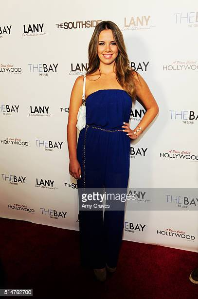 Denise Faro attends the 5th Annual LANY Entertainment Mixer at St Felix on March 10 2016 in Hollywood California