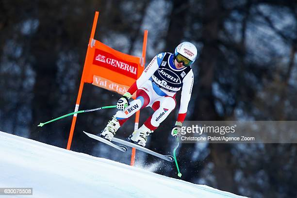 Denise Feierabend of Switzerland competes during the Audi FIS Alpine Ski World Cup Women's Combined on December 16 2016 in Vald'sere France