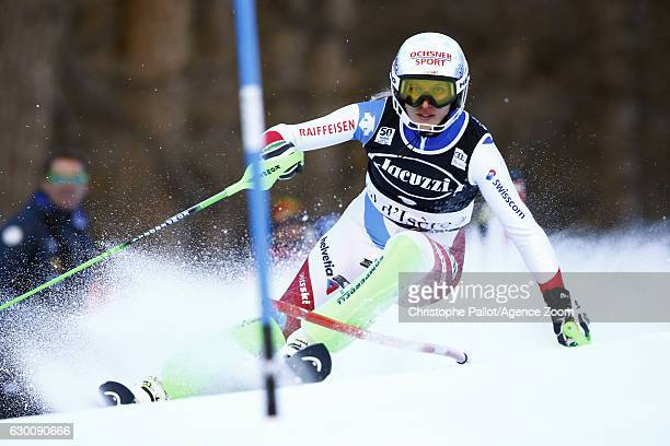 Denise Feierabend of Switzerland in action during the Audi FIS Alpine Ski World Cup Women's Combined on December 16 2016 in Vald'sere France