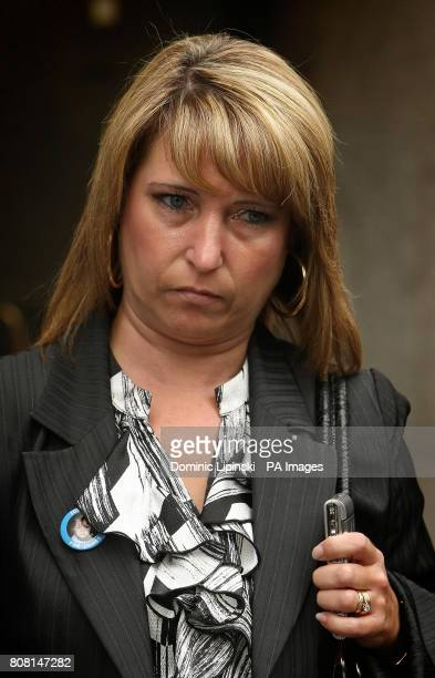 Denise Fergus the mother of James Bulger outside the Old Bailey in central London following Jon Venables's appearance by videolink to enter pleas to...