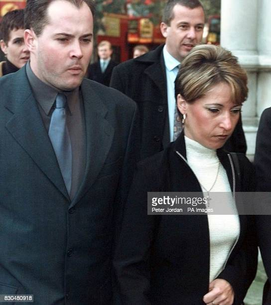 Denise Fergus the mother of murdered toddler James Bulger arriving with her husband Stuart at the Law Courts in London to hear the Lord Chief...
