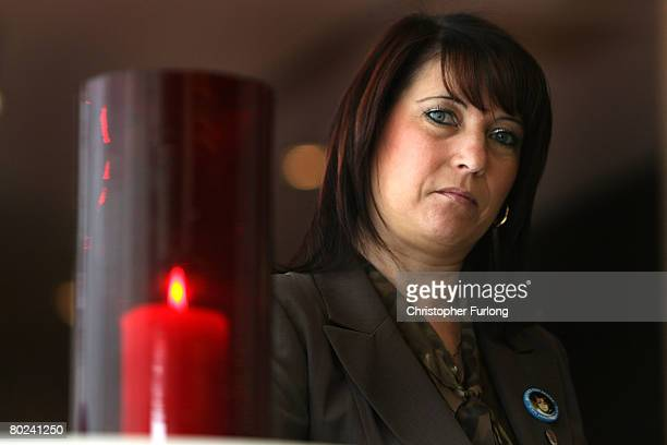 Denise Fergus the mother of murdered twoyearold James Bulger attends a press conference to launch an appeal to raise funds for bullied children on...