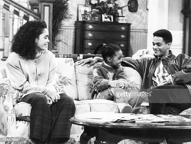 SHOW Denise Gets an Opinion Episode 16 Air Date Pictured Lisa Bonet as Denise Huxtable Kendall Keshia Knight Pulliam as Rudy Huxtable Don Franklin as...