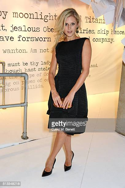 Denise Gough attends the Bright Young Things Gala 2016 a Young Patrons of the National Theatre event in support of emerging talent at The National...