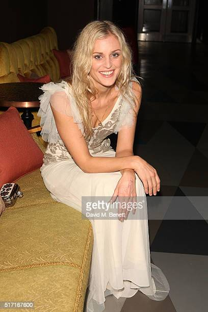 Denise Gough attends the press night after party for 'People Places and Things' at The Picturehouse Central on March 23 2016 in London England