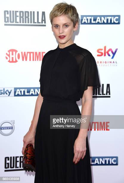 Denise Gough attends the UK Premiere of 'Guerrilla' at The Curzon Bloomsbury on April 6 2017 in London England