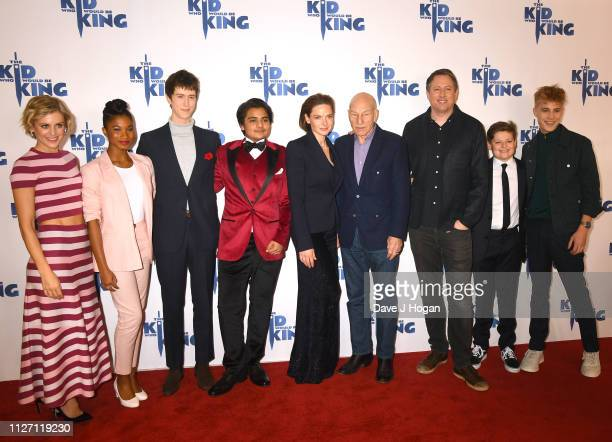 Denise Gough Rhianna Dorris Angus Imrie Dean Chaumoo Rebecca Ferguson Patrick Stewart Joe Cornish Louis Ashbourne Serkis and Tom Taylor attend a gala...