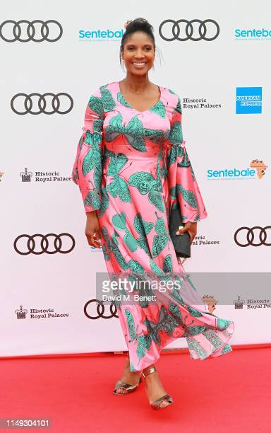 Denise Lewis arrives at the Audi Sentebale Concert at Hampton Court Palace on June 11 2019 in London England
