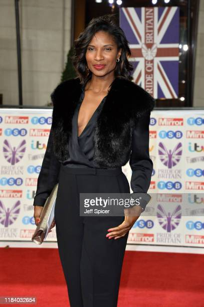 Denise Lewis attends Pride Of Britain Awards 2019 at The Grosvenor House Hotel on October 28 2019 in London England