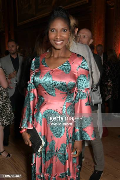 Denise Lewis attends the Audi Sentebale Concert at Hampton Court Palace on June 11 2019 in London England