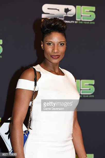 Denise Lewis attends the BBC Sports Personality of the Year award at Odyssey Arena on December 20 2015 in Belfast Northern Ireland